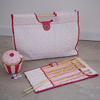 Knitting & Sewing Storage Set