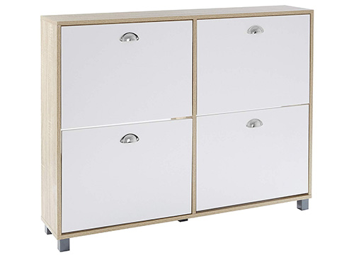 St Ives 4 Drawer Shoe Storage Cupboard