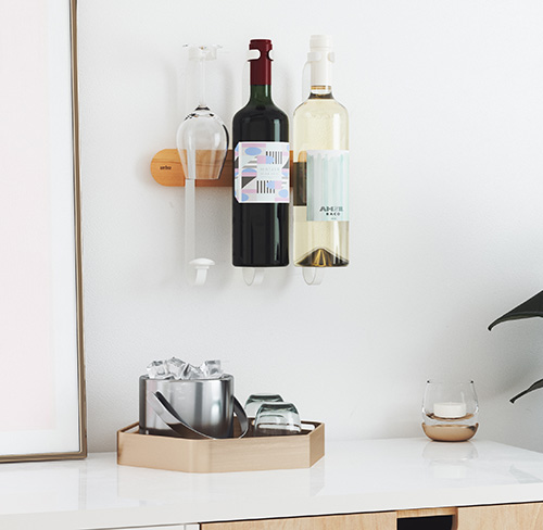 Wall Mounted Wine Rack - Showvino