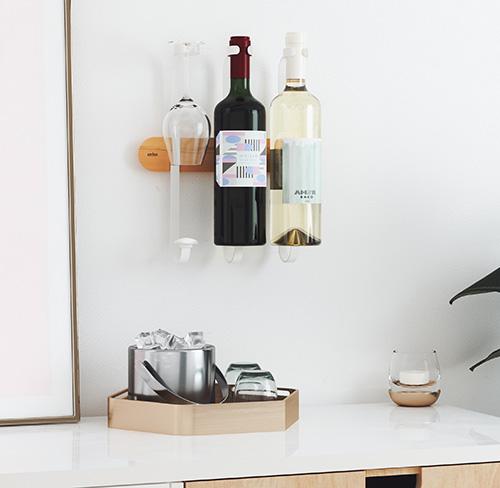 Wall Mounted Wine Rack - Showvino