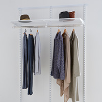 Best Selling 2 Bay Elfa Hanging Solution