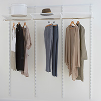 Elfa Best Selling Solution - Hanging 3 Bay