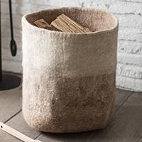 Ombre Felt Storage Basket - Southwold
