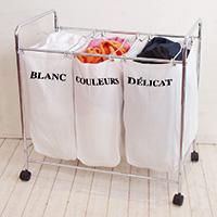 Triple Laundry Sorter