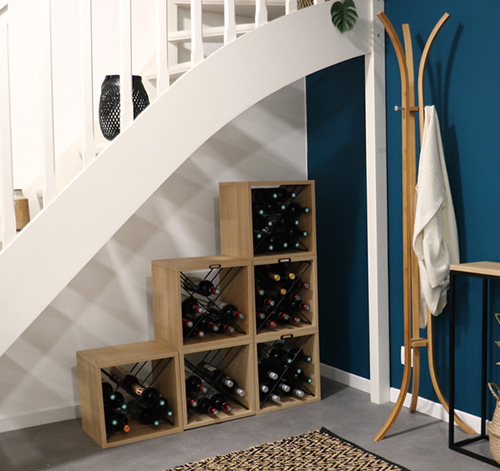 Stackable Wine Storage Cube