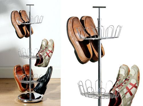 Revolving Shoe Tree