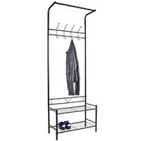 Hallway Coat Stand & Shoe Bench