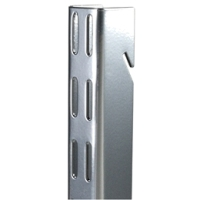 Elfa Vertical Wall Bars - 1.2m Platinum