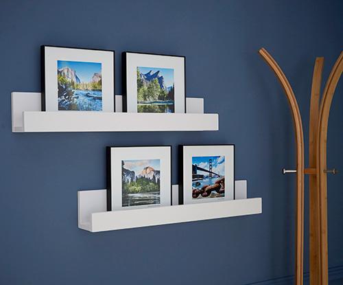 2 x Picture Ledge Shelves