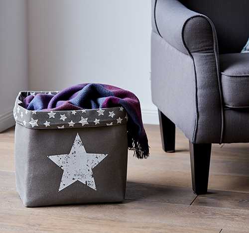 Canvas Storage Bag - Star