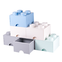 Giant LEGO Storage Drawers - Pastel Drawer Bundle