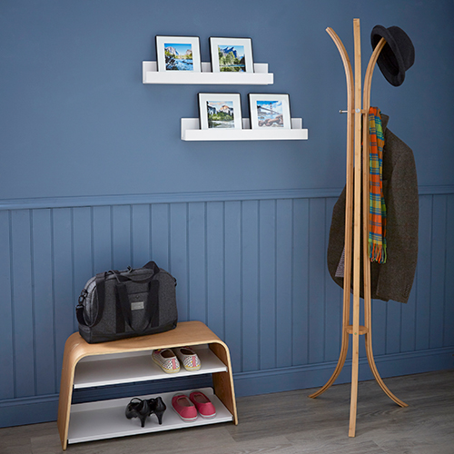Bamboo 3 Arm Coat Stand
