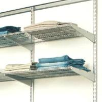 60cm x 40cm Elfa Ventilated Shelf - Platinum