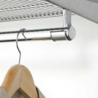 Elfa Clothes Rail Holder - Platinum