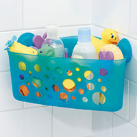 Bath Time Toy Storage Caddy - Bubblz