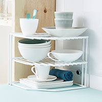 Corner Storage Organiser Shelf