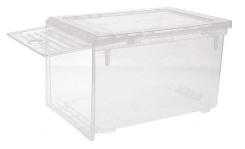 Shoe Storage Box with Sliding Lid