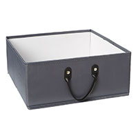 Small Basket for Handbridge Cube - Grey