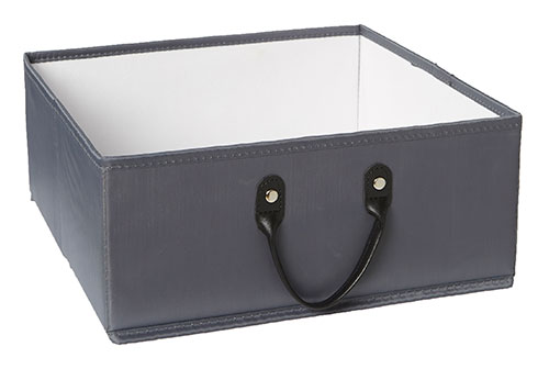 Small Basket for Handbridge Cube - Grey