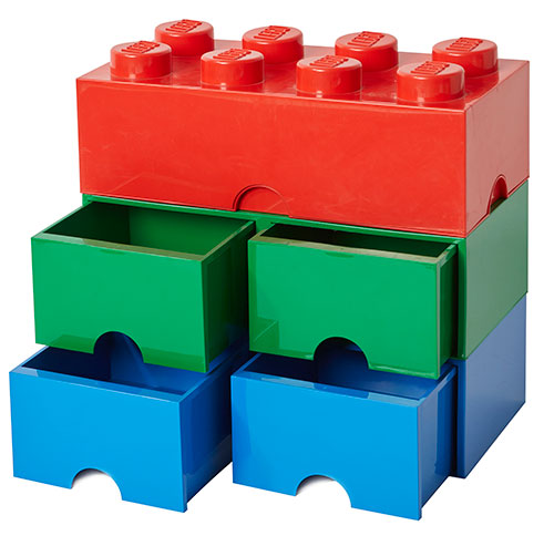 Giant LEGO Storage Blocks - Drawers & Brick Bundle