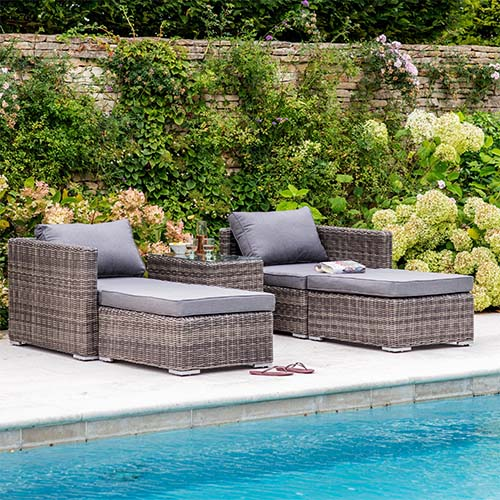 Selborne Double Lounger Modular Furniture Set