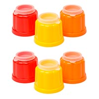 Set of 6 Classic Jelly Moulds