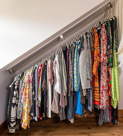 Any Angle Clothes Hanging Rail - Zebedee 60cm