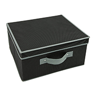 Fold Flat Storeasy Storage Box - Black