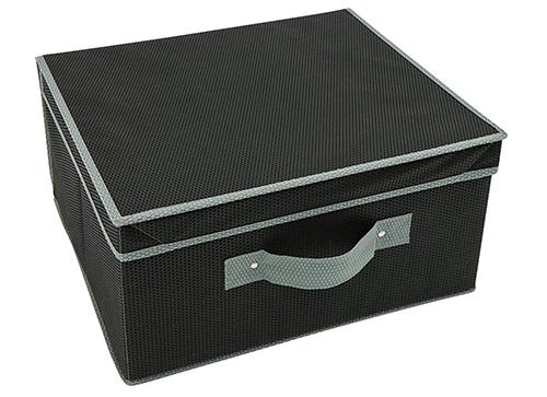 Fold Flat Storeasy Storage Box - Black