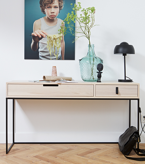 Ashwood Console Table - Silas