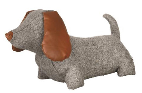 Felt & Faux Leather Doggy Doorstop