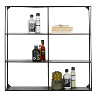 3 Tier Wall Shelf Unit - Meert