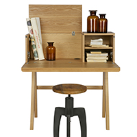 Compact Bureau Writing Desk