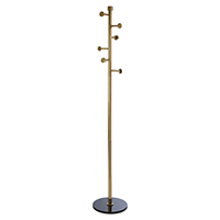 Antique Brass Finish Coat Stand