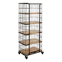 5 Rack Shelving Unit - Crest