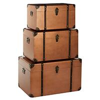 Set of 3 Storage Trunks - Navigator