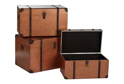 3 piece storage trunk set - Natigator