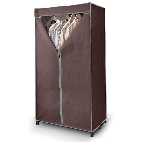 Canvas Wardrobe - Brown