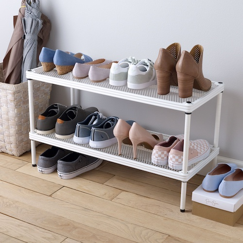 Meshworks Stacking Shoe Shelves