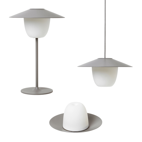ANI Lamp in Grey