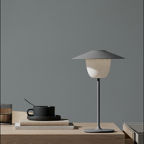 Grey ANI Lamp Blomus