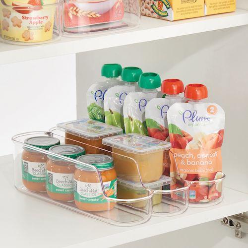 3 Cubby Cupboard Jar & Can food Organisers