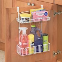 Over-door Kitchen / Utility storage rack