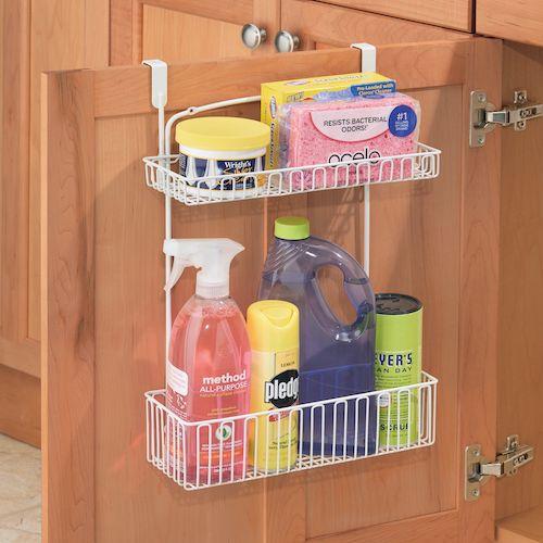 Over-door kitchen / utility storage rack