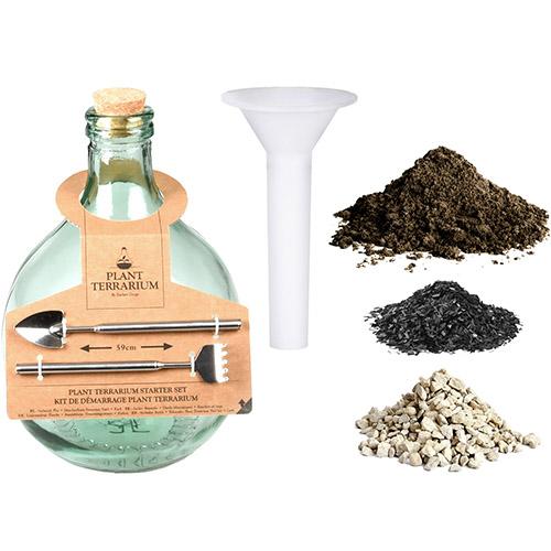 Terrarium Bottle Plant Starter Kit- 5L