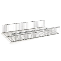 Elfa Basket Shelf 60cm x 40cm Deep - Platinum