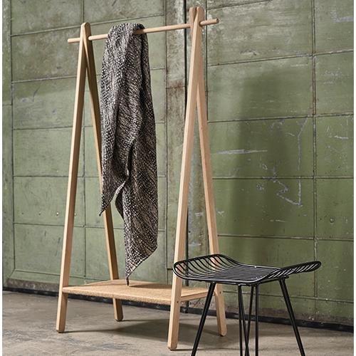 Villa Collection Wooden Clothes Rack