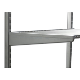 elfa bracket covers. Clip over any elfa twin slot shelf bracket
