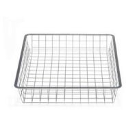 35cm x 44cm Platinum Elfa Basket - Shallow
