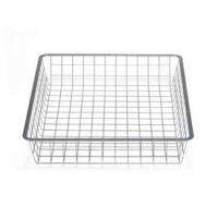 45cm x 44cm Platinum Elfa Basket - Shallow